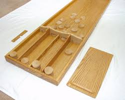 Dutch Game With Wooden Discs Dempsey Woodworking Sjoelbak shuffleboard 2