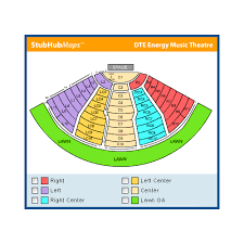 Dte Energy Seating Chart Clarkston Dte Music Theatre Seating Toys Battery Cars
