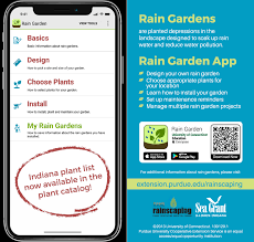 created at the university of connecticut the app includes tools for determining soil type measuring the area needed for the garden and managing multiple