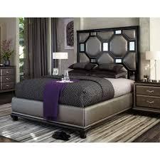 upholstered platform bed king art furniture st germain