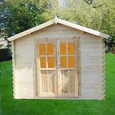 10x8 wood storage shed