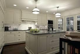 white beveled subway tile kitchen backsplash