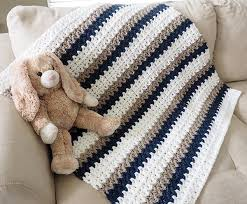 Crochet Baby Blanket Patterns Adorable Easy 'Done In A Day' Crochet Baby Blanket Dabbles Babbles