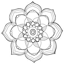 Kleurplaat Volwassenen Mandala Kaartje2go Kleurplaat Mandala