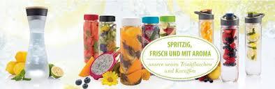 trinkflasche mit früchteeinsatz schweiz