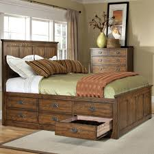 king size bed with storage drawers. Beautiful Bed Intercon Oak Park King Bed With 12 Storage Drawers  Item Number OPBR To Size With T