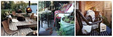 luscious sheepskin can turn your patio into a warm paradise consider placing a sheepskin rug over your patio chairs or on your deck for everyone to enjoy