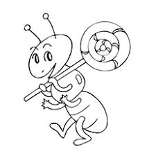 Small Picture Top 25 Free Printable Ants Coloring Pages Online