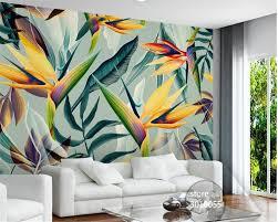 Bestellen Beibehang 3d Behang Handgeschilderde Chrysant Plant Bloem