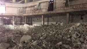 Demolition Underway On The Inside Of The Bmo Harris Bradley