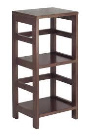narrow low bookcase