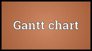 Gantt Chart Meaning