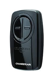 Chamberlain Technical Support Chamberlain Group Klik3u Bk Clicker Universal 2 Button Garage Door Opener Remote With Visor Clip Black