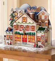 best wooden advent calendars house santa decoration ideas