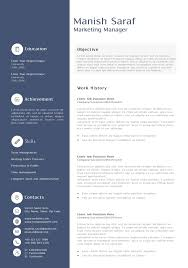 Free Sample Resume Of Marketing Manager Lovely Sample Resume For