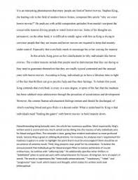 persuasive essay why we crave horror movies creative writing zoom zoom