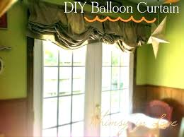 lighting curtains. Balloon Valances For Living Room White Mesh Curtain Pastoral Shade Curtains Lighting