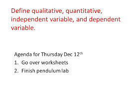 Agenda for Wednesday Dec 3 rd Notebook set-up Pre-test Learning ...