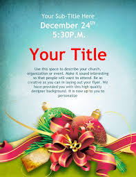 Christmas Design Templates Free Christmas Cheer Flyer Design Template Flyer Templates
