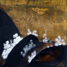 WENDY ARNOLD (1956-) Original Painting & Gold Leaf on Linen, Gallery: $2100  Auction (0182-2302232) | GraysOnline Australia