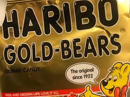 gold gummi bears