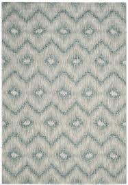 safavieh courtyard gray indoor outdoor area rug 5 3