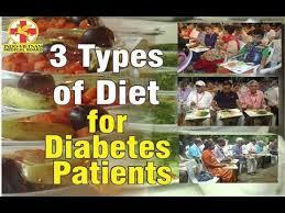 3 Types Of Diet For Diabetes Patients