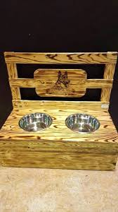 dog bowls and stands dish holder diy raised bowl uk single stand