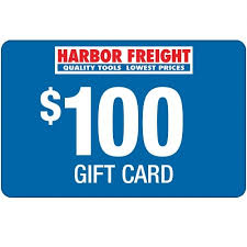 $100 Harbor Freight Gift Card
