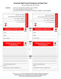 50 Printable Emergency Contact Form Templates Fillable Samples In