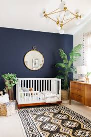 Modern Smoke Mural Nursery for a Baby Boy | Beautiful boys ...