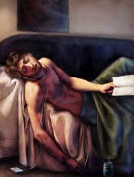 a parody painting of the of marat i did during college titled the the of markus