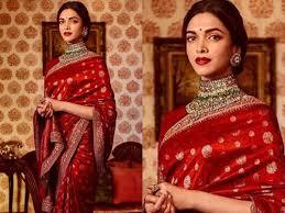 Deepika Padukone Designer Name When Aishwarya Rai Repeated A Sari Worn By Deepika Padukone