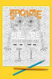 Small Picture SpongeBob Adult Coloring Page Nickelodeon Parents