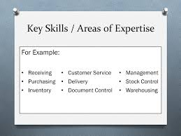areas of expertise for customer service creating a resume ppt video online download