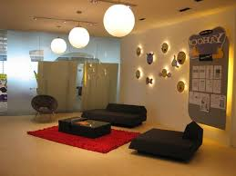 interior decoration for office. emote themes wall interior decor inspirations of yahoo office room with beautiful lighting scheme and decoration for i