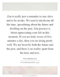 Zen Quotes Interesting Zen Quote A Pondering Mind