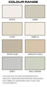Palliside Colour Chart Traditional Old Style Cladding Forever Boards