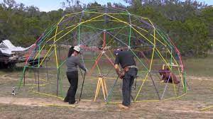 how to build a geodesic dome 268