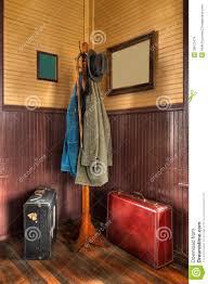 Train Coat Rack Train Station Coat Rack Luggage In Corner Stock Photo Image of 10