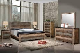rustic queen bed. Brilliant Rustic SEMBENE BEDROOM COLLECTION  Sembene Bedroom Rustic Antique MultiColor Queen  Bed And 7