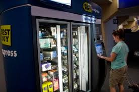 Best Buy Express Vending Machine Best Best Buy Express Trades Gadgets In Lieu Of Chocolates Colas Tech