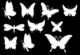 Butterfly Shapes Butterfly Shape Butterfly Template