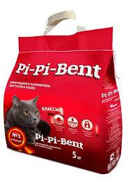 <b>Комкующийся наполнитель Pi Pi Bent</b> Классик (п/э пакет)