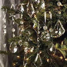 Our Set of 24 Crystal Droplets create a sparkling constellation on the  holiday tree and across