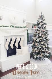 diy white gold michaels makers dream tree christmas decor home decor