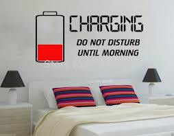 creative bettery style vinyl wall decal do not disturb charging wall art sticker bedroom quote lounge on vinyl wall art stickers with creative bettery style vinyl wall decal do not disturb charging wall