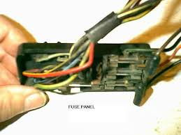 1964 falcon fuse box 1964 printable wiring diagram database headlight switch fuses source · how to repair a ford falcon mustang fuse box on 1964