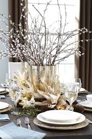 The Inspiring Easy Christmas Table Decorations Ideas Perfect Awesome White  Top