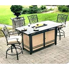 high patio dining table counter high outdoor table counter height patio dining set patio balcony height